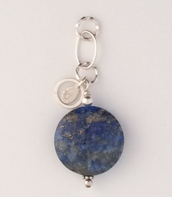 Sterling Silver and Lapis Lazuli Pendant