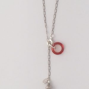 "Mini Swarovski ""Copper"" Crystal Circle Embellishment"