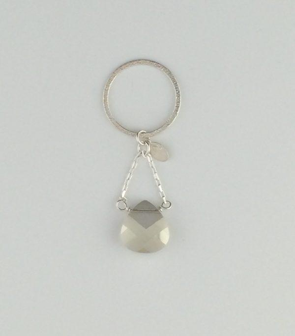 Sterling Silver and Swarovski Crystal Pendant