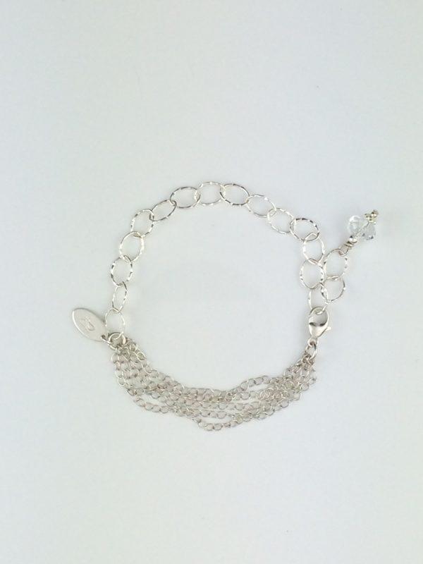 Sterling Silver Multi Strand Bracelet